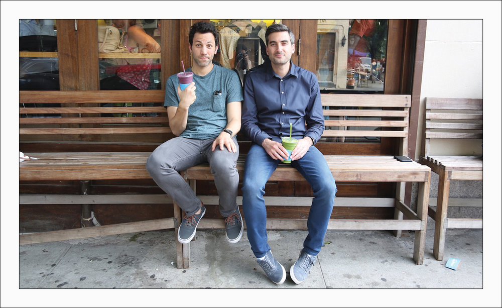 Infatutaion founders Andrew Steinthal and Chris Stang.