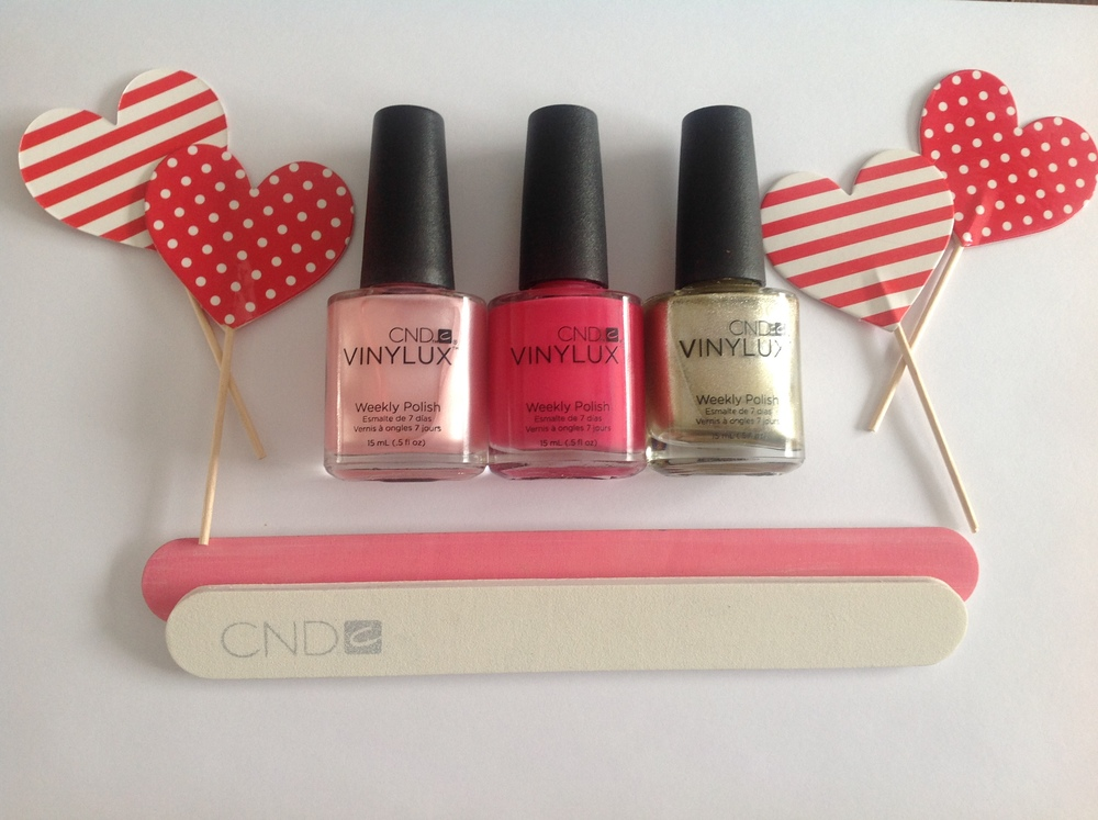 ColorsFrom Left to Right: 'Strawberry Smoothie' #150, 'Pink Bikini' #134, 'Locket Love' #128