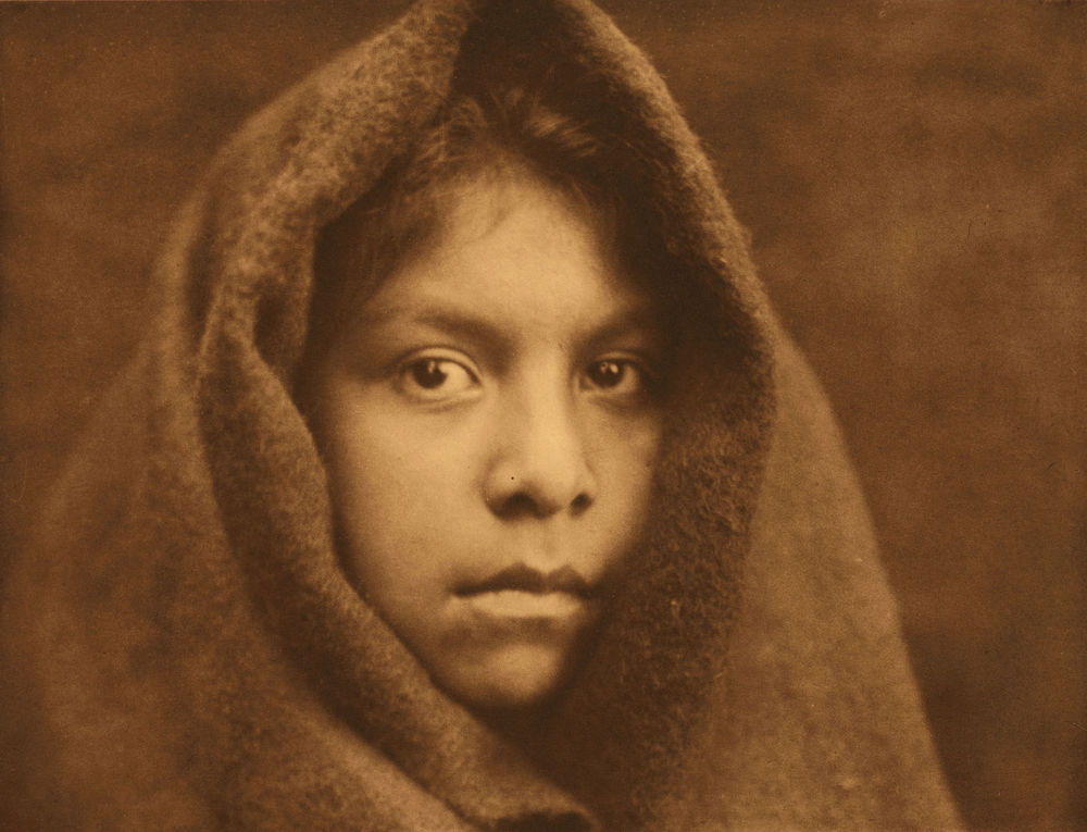 Edward Curtis, A Makah Maiden, 1916, courtesy of the Library of Congress.