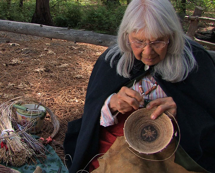 Julia Parker, Native Basketweaver