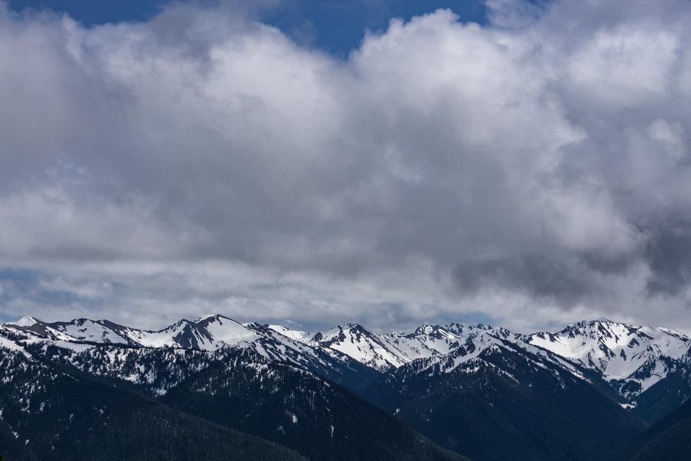 Olympic Mountains, Hurricane Ridge, 2017