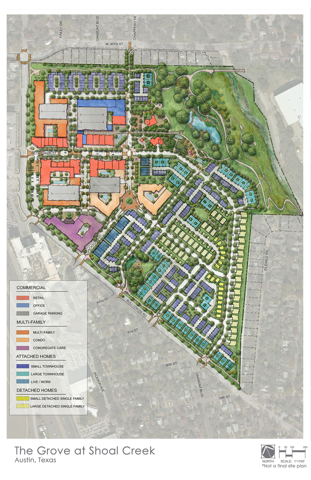 Click the image to download a high resolution photo of the Master Plan.
