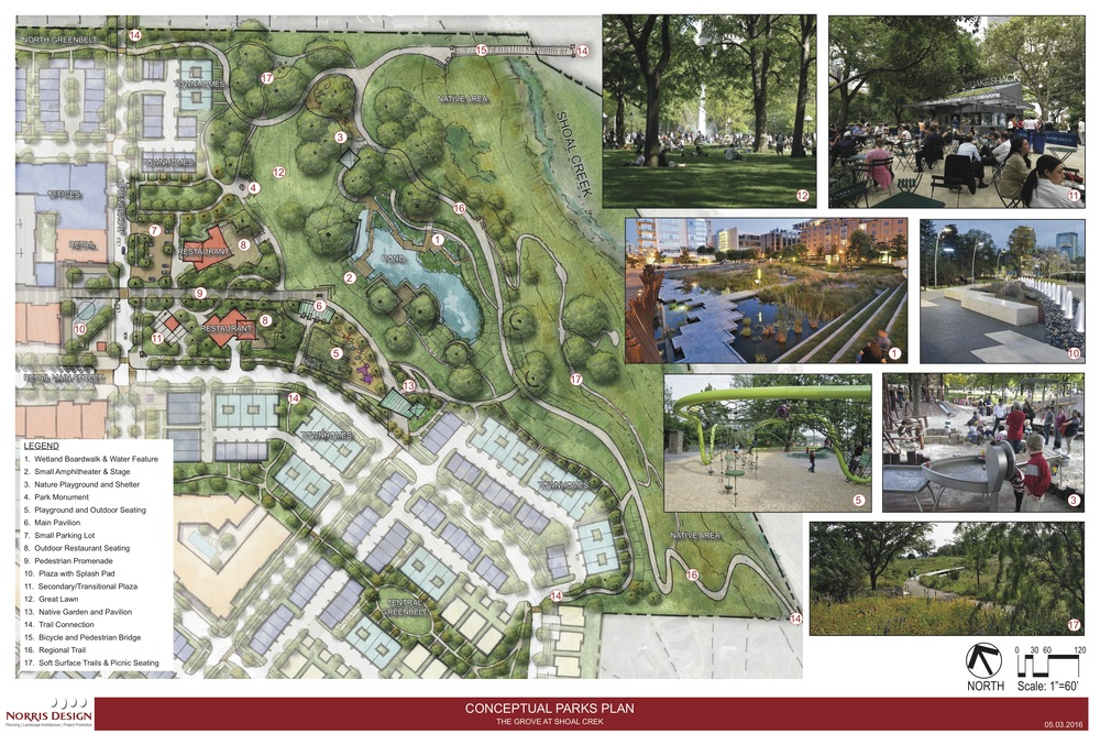 Click the image to download The Grove's Conceptual Parks Plan
