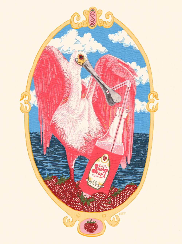 Summer Spoonbill