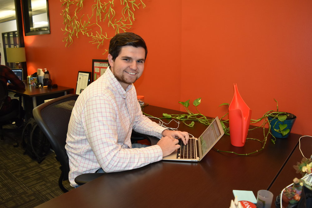 """""""The internship with Sticksnleaves had many positive outcomes. I was able to learn a lot more about prospecting and marketing. While I was at Sticksnleaves I prospected through LinkedIn and other social websites to find people who may fit our target market. These prospects were used as a part of different marketing campaigns our company created. I also had the opportunity to create different types of content marketing. I also created video content marketing from interviews performed by my employer. This stretched me because I had never created videos of any type. This internship was extremely beneficial for my future and every student should be involved in an internship.""""    - Seth Turcott, Intern at Sticksnleaves"""