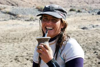 Pili. Instructora y directora en Fuerte Tribu Surf