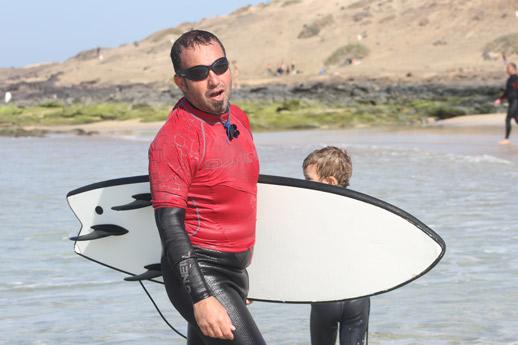 Paolo. Instructor en Fuerte Tribu Surf