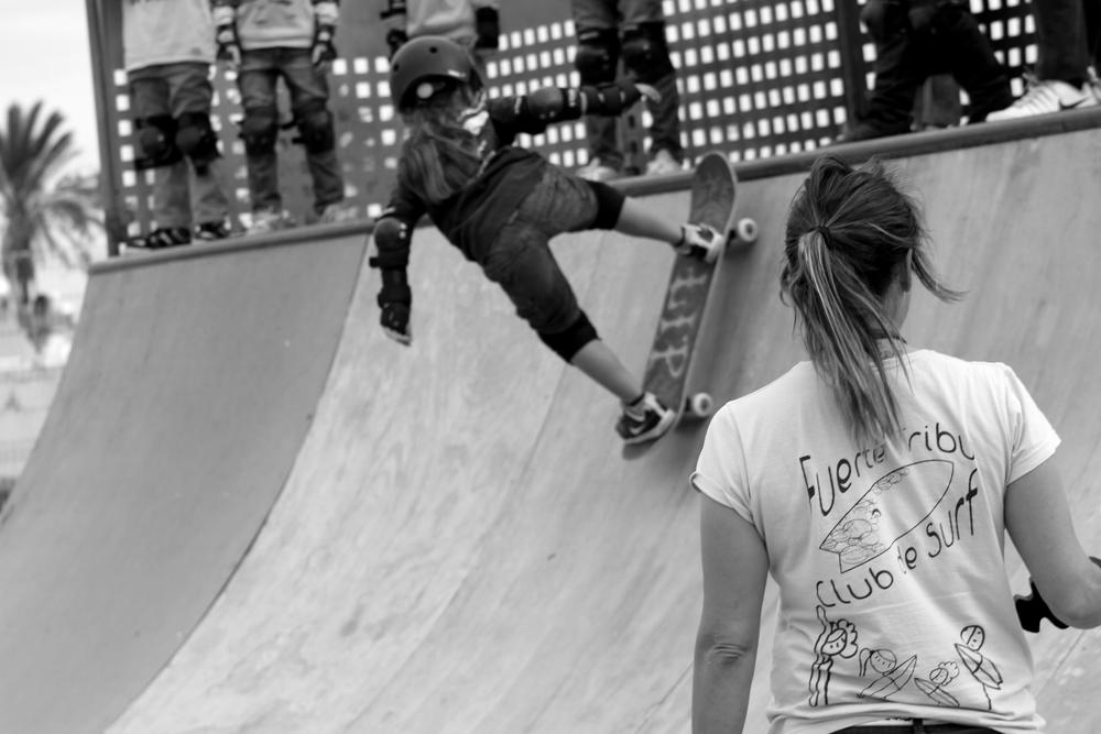 Skateboarding Fuerteventura