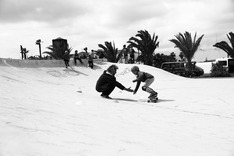 Carver skate lessons Fuertetribusurf