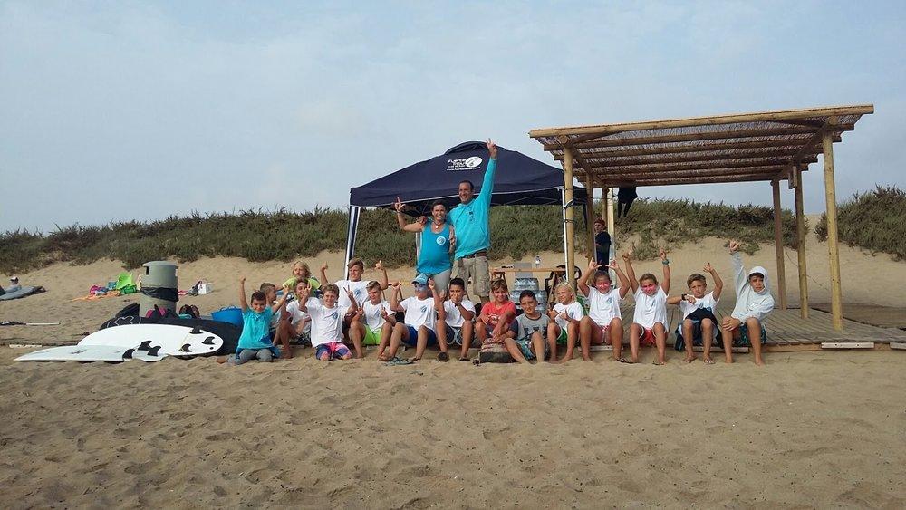 2da Etapa Circuito Autonómico e insular promesas del Surfing FUERTEVENTURA en Playa Blanca.