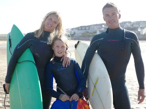 Family surf fuerteventura
