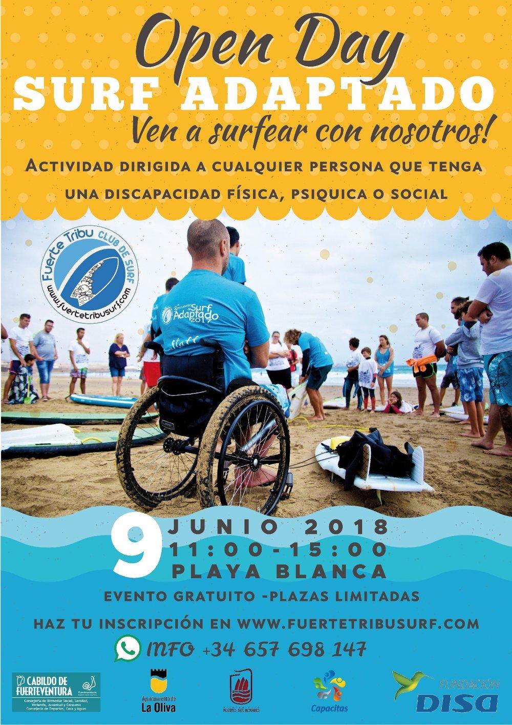 surf adaptado, adaptive surf, surf adattato, diversidad funcional, surf adaptado olimpico