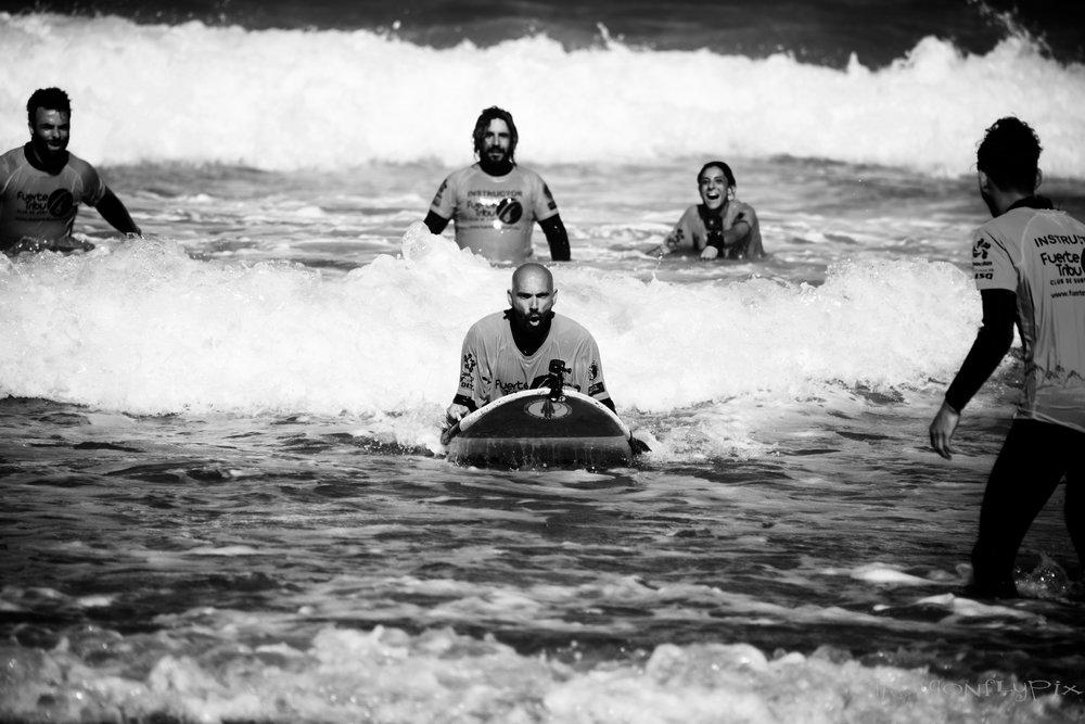 surf adaptive Fuerteventura Fuerte Tribu