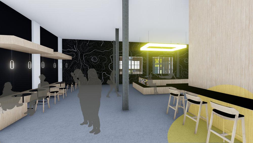 Community lounge on Level 1