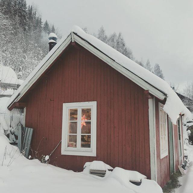 Winter is coming...to my #workshop  #norway #winterwonderland #ål #mittnorge #winteriscoming