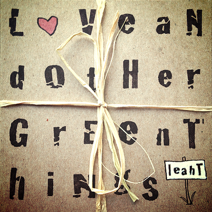 Leah T - Love and Other Green Things