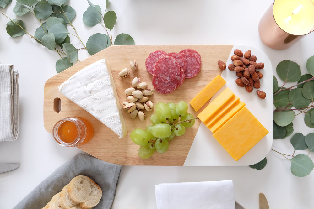 Cheeseboard ,  Candles : Rove Concepts