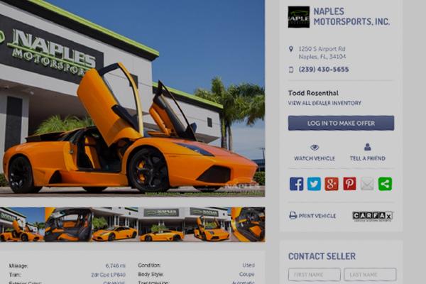 Automotive Sales Platform