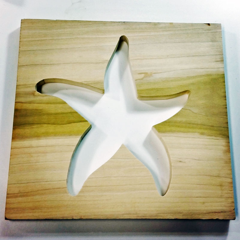 Starfish Cutout Wall Art