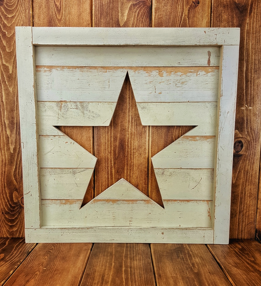 Star Cutout Wall Art