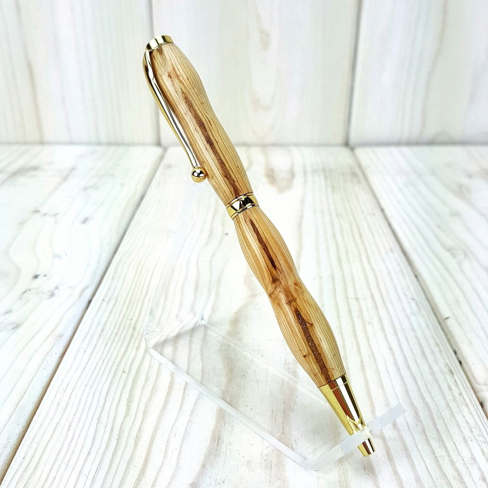 Pine Slimline Gold Pen