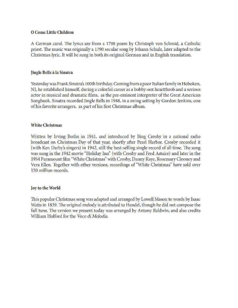 2015 Christmas Program — St. Louis Church Concert Series