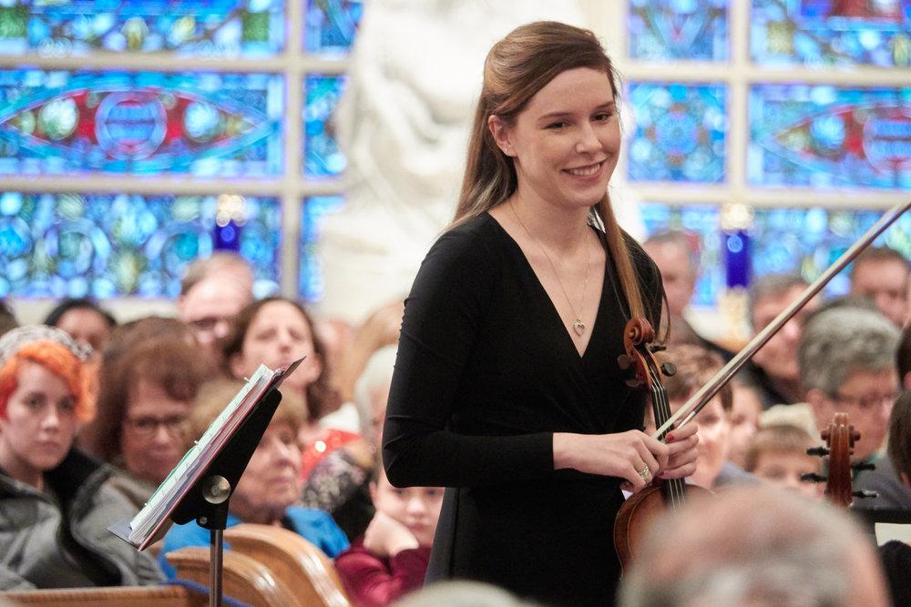Destiny Ann Mermagen, orchestra leader