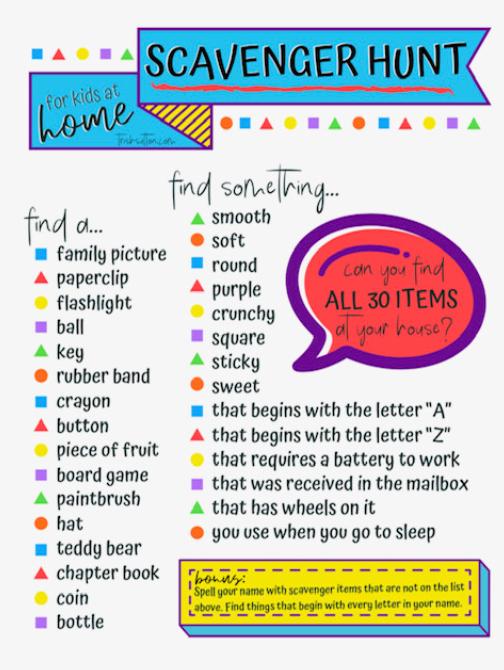 Tip 28 Host A Virtual Scavenger Hunt Parentsquare Blog