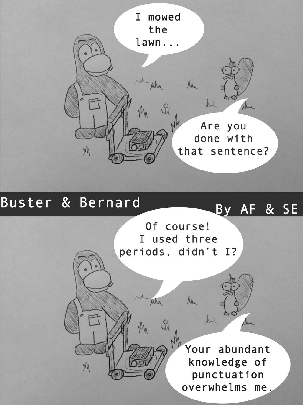 Ellipses Comic