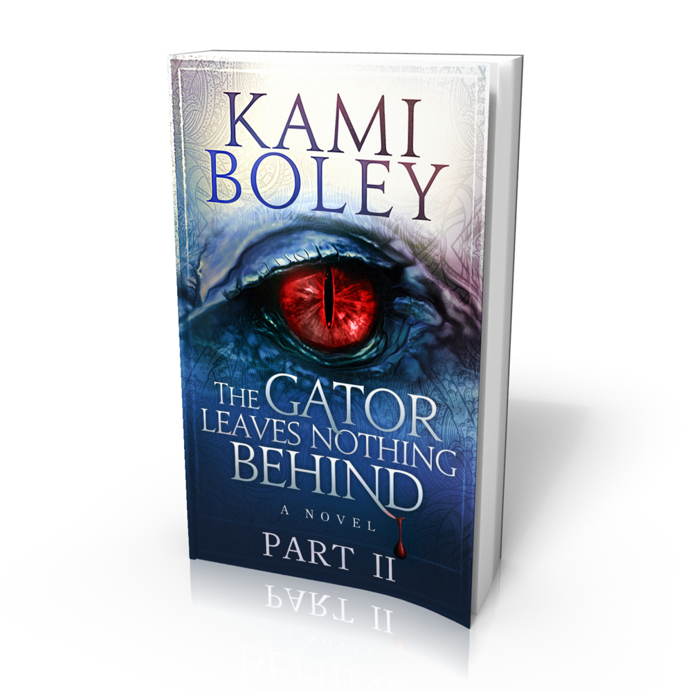Part II - Continue the saga with Kami Boley's The Gator Leaves Nothing Behind: Part II.