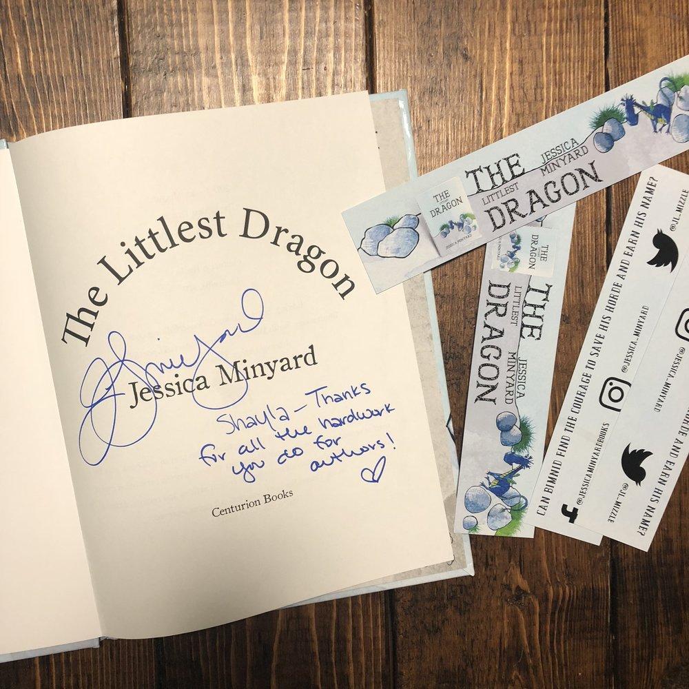 The Littlest Dragon by Jessica Minyard