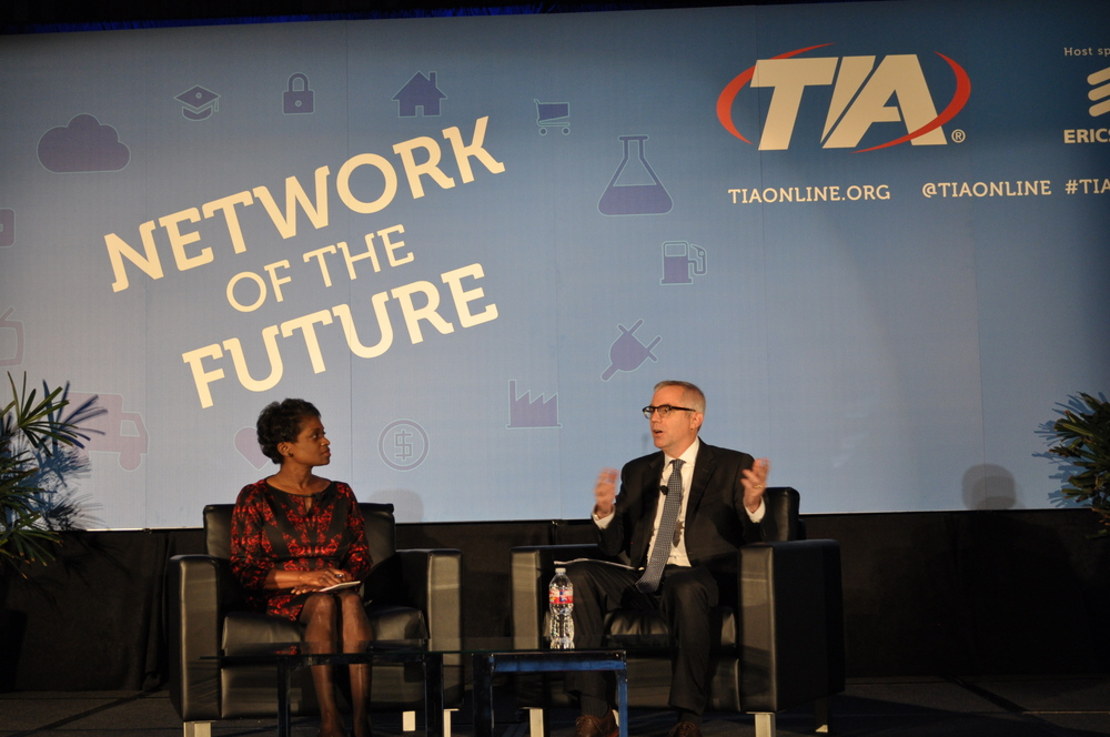 FCC Commissioner Clyburn Speaks at TIA 2015