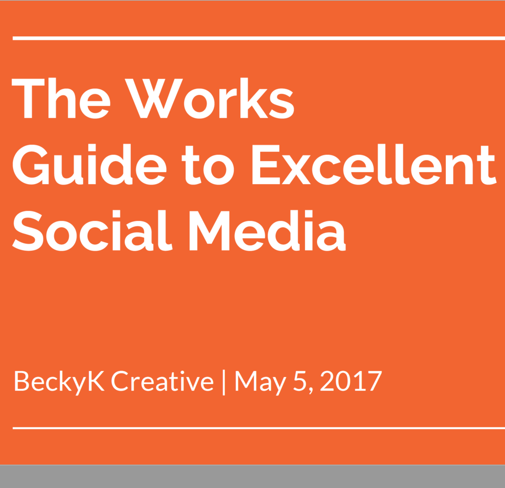 The Works - social media training