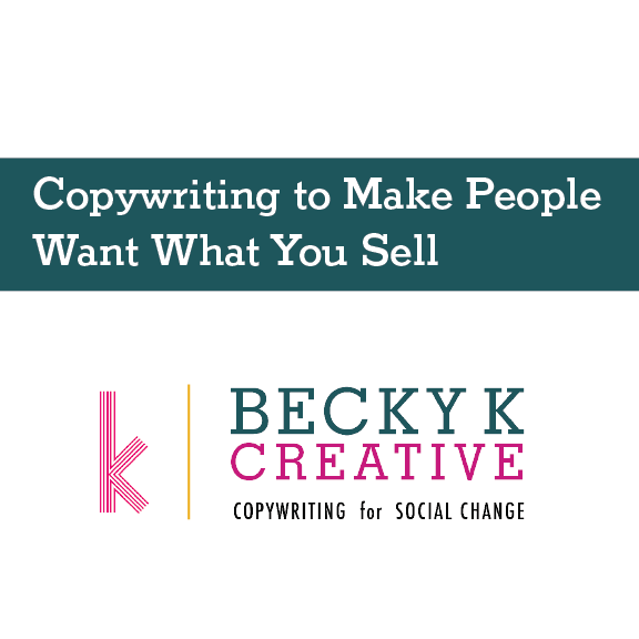 Hannah Grimes - copywriting workshop
