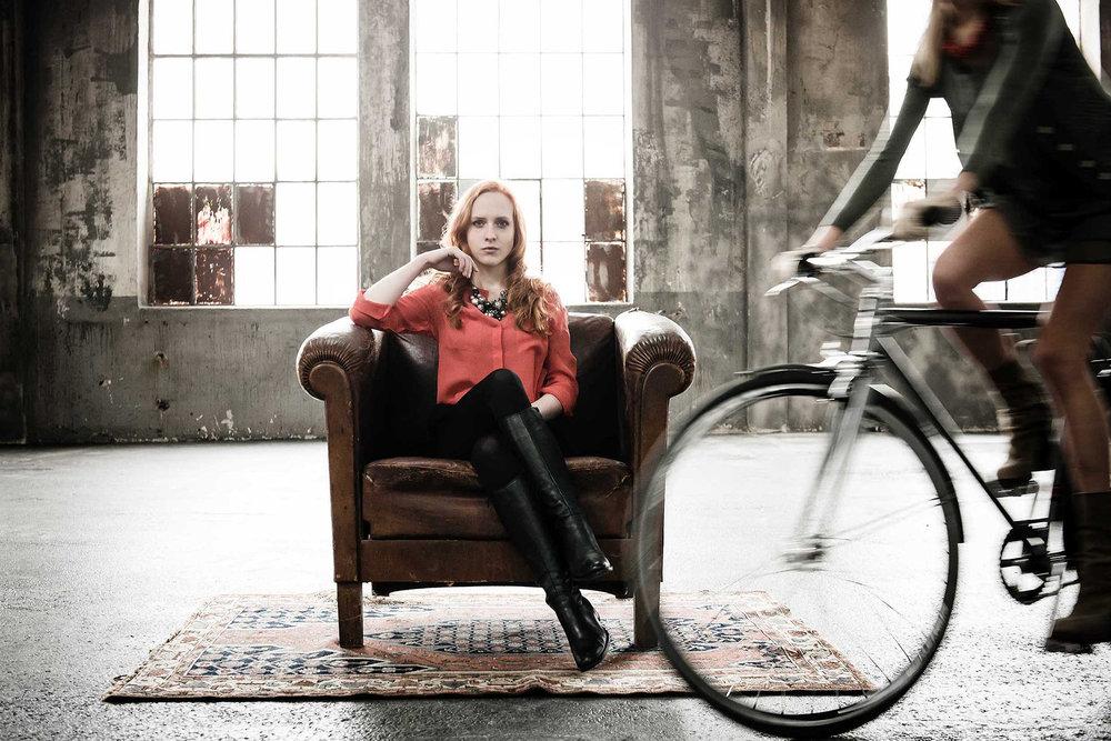 Commercial-Shooting für Cooper Bikes, Schlafwagenfabrik München