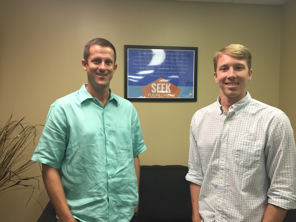 Craig Mandeville, Founder/CEO Matt Challberg, Dir. Marketing & Business Development