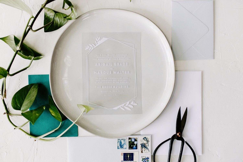 romantic wedding invitations by basic invite em