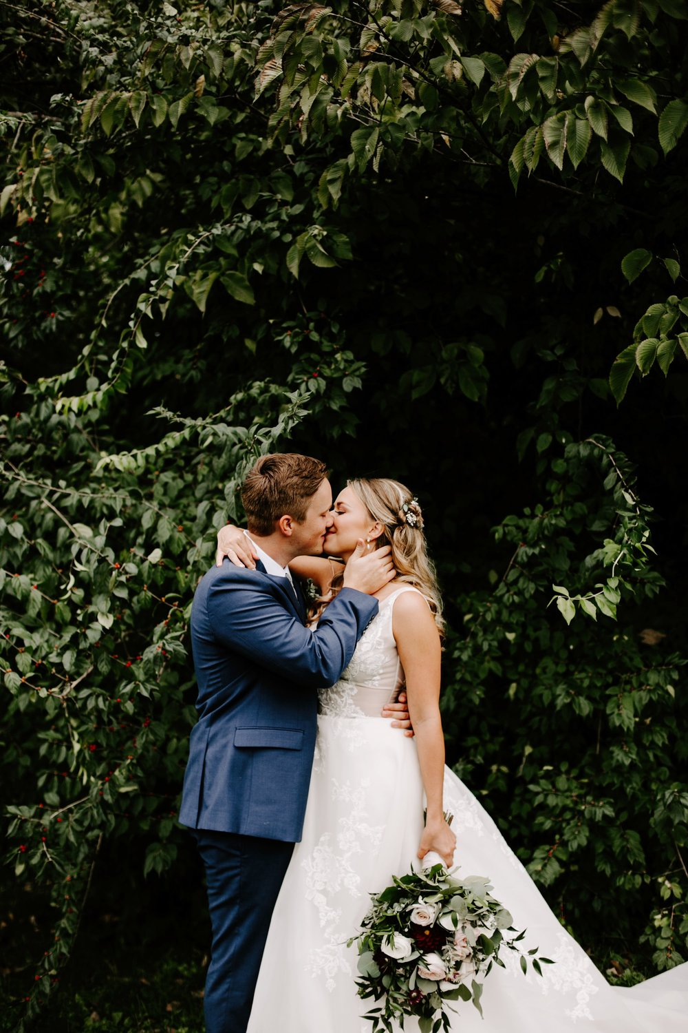 Katy and Michael Wedding at The Ritz Charles Garden Pavillion in Indianapolis Indiana by Emily Elyse Wehner Photography LLC-158.jpg