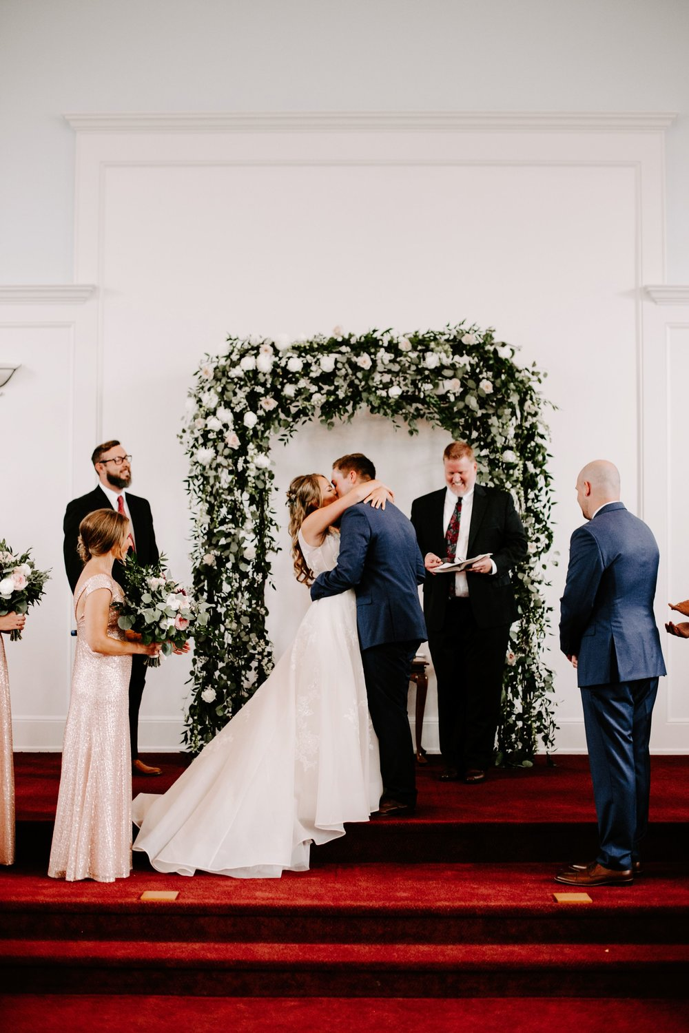 Katy and Michael Wedding at The Ritz Charles Garden Pavillion in Indianapolis Indiana by Emily Elyse Wehner Photography LLC-611.jpg