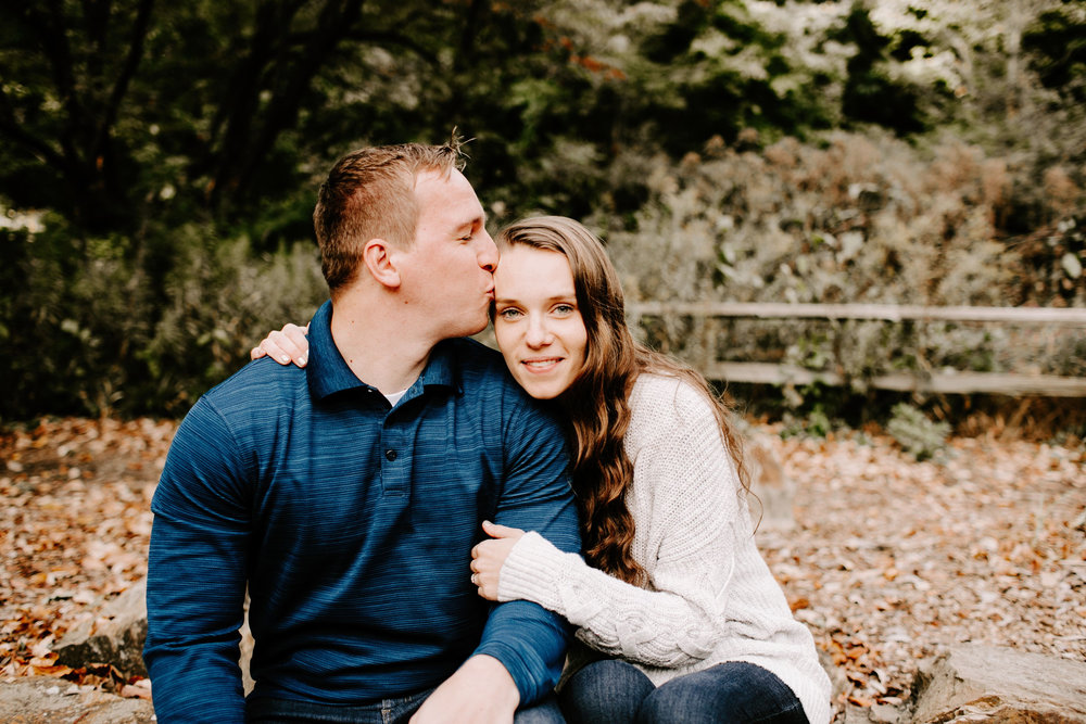 Kelsey and Eric Engagement Session at Holliday Park in Indianapolis Indiana by Emily Elyse Wehner Photography LLC (16).jpg