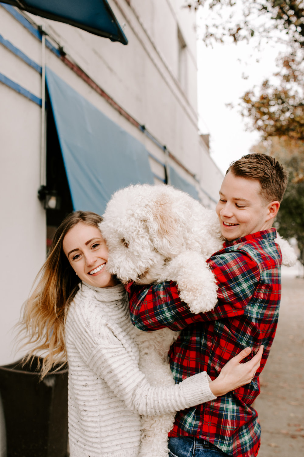 Hallie and Tyler Couple Photos downtown Broad Ripple Indiana Emily Elyse Wehner Photography LLC-48.jpg