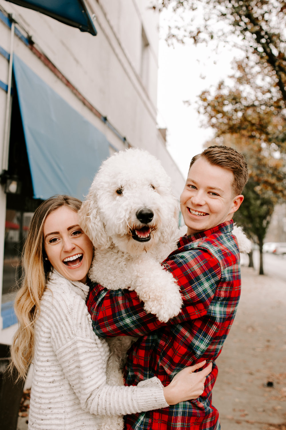 Hallie and Tyler Couple Photos downtown Broad Ripple Indiana Emily Elyse Wehner Photography LLC-50.jpg