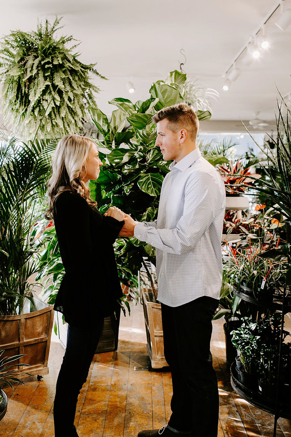 Lindy and JT Proposal at Allisonville Nursery in Indianapolis Indiana by Emily Elyse Wehner Photography LLC-22.jpg