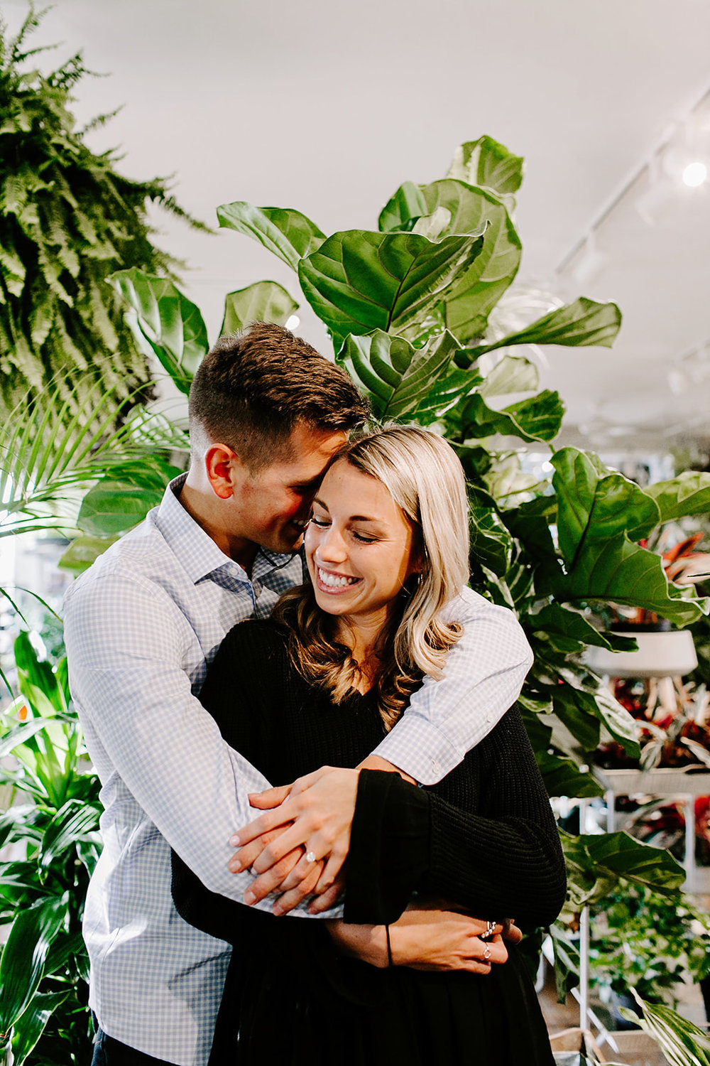 Lindy and JT Proposal at Allisonville Nursery in Indianapolis Indiana by Emily Elyse Wehner Photography LLC-123.jpg