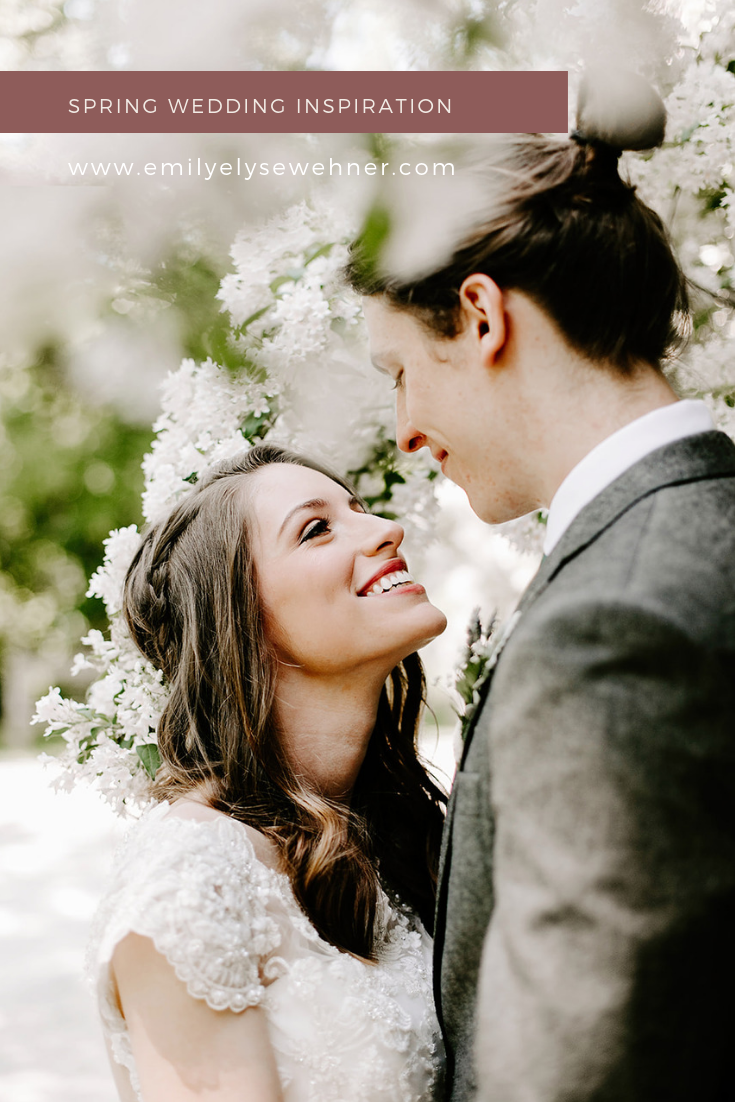 Browse the blog of this spring wedding in I ndianapolis, Indiana by Emily Elyse Wehner Photography
