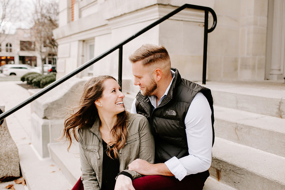 Holly and Michael Engagement Session in Noblesville Indiana by Emily Elyse Wehner Photography LLC-113.jpg