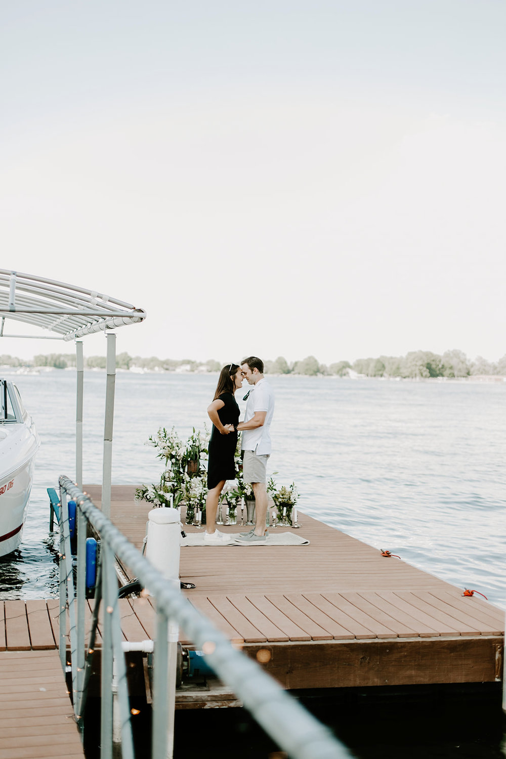 Hannah and Taylor Engagement Morse Resevoir Noblesville Indiana Emily Elyse Wehner Photography-34.jpg