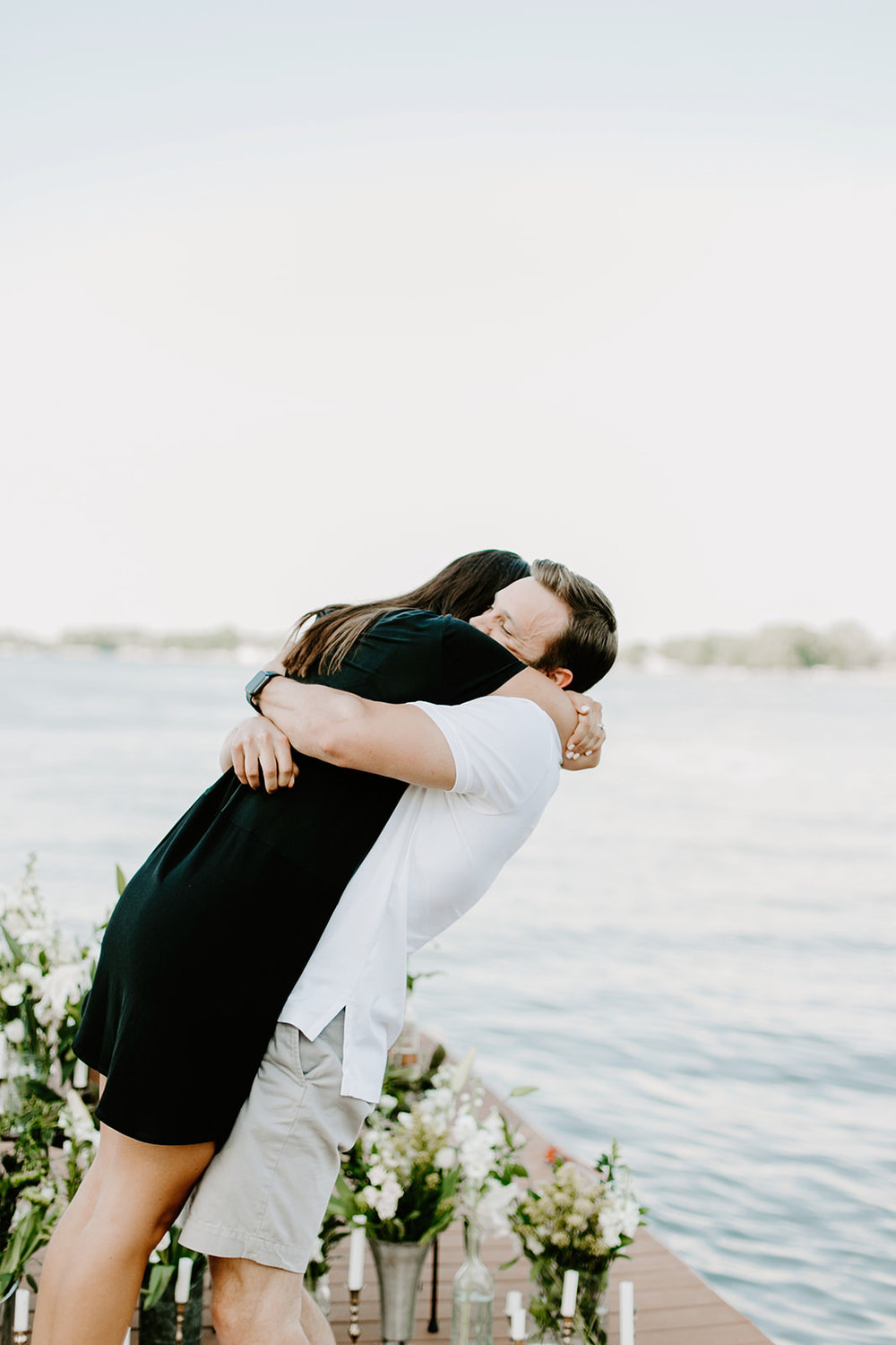 Hannah and Taylor Engagement Morse Resevoir Noblesville Indiana Emily Elyse Wehner Photography-68.jpg