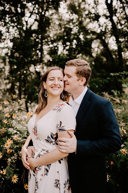 Engagement session 100 Acre Woods Indianapolis Indiana Emily Elyse Wehner Photography