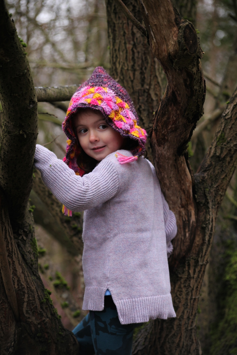 taking a Moment in Time: Woodland Pixie Hat